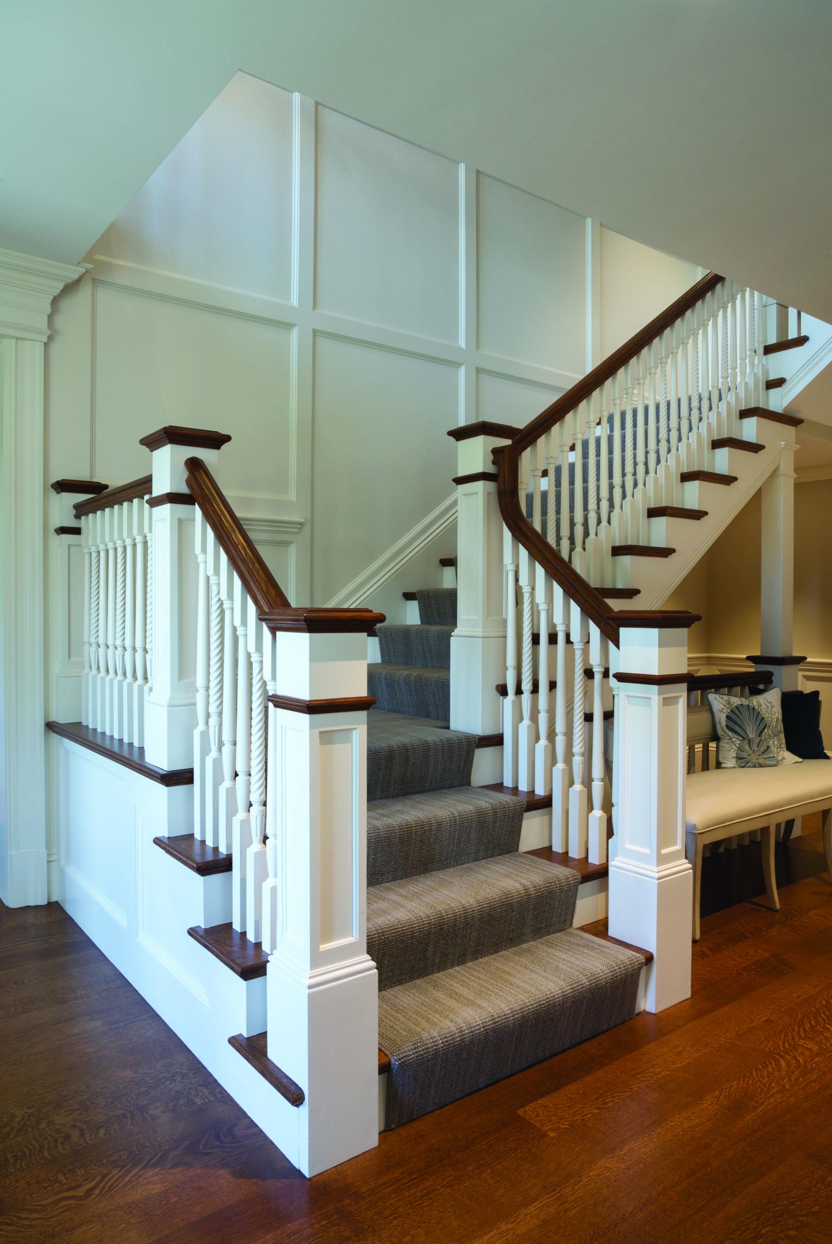 Van Millwork Staircase