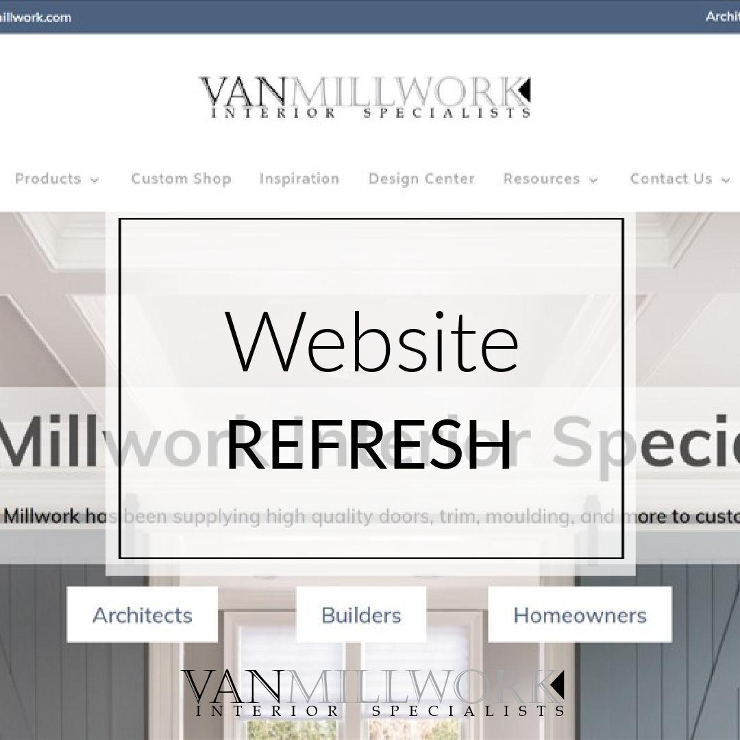 Van Millwork Website Launch Blog Post