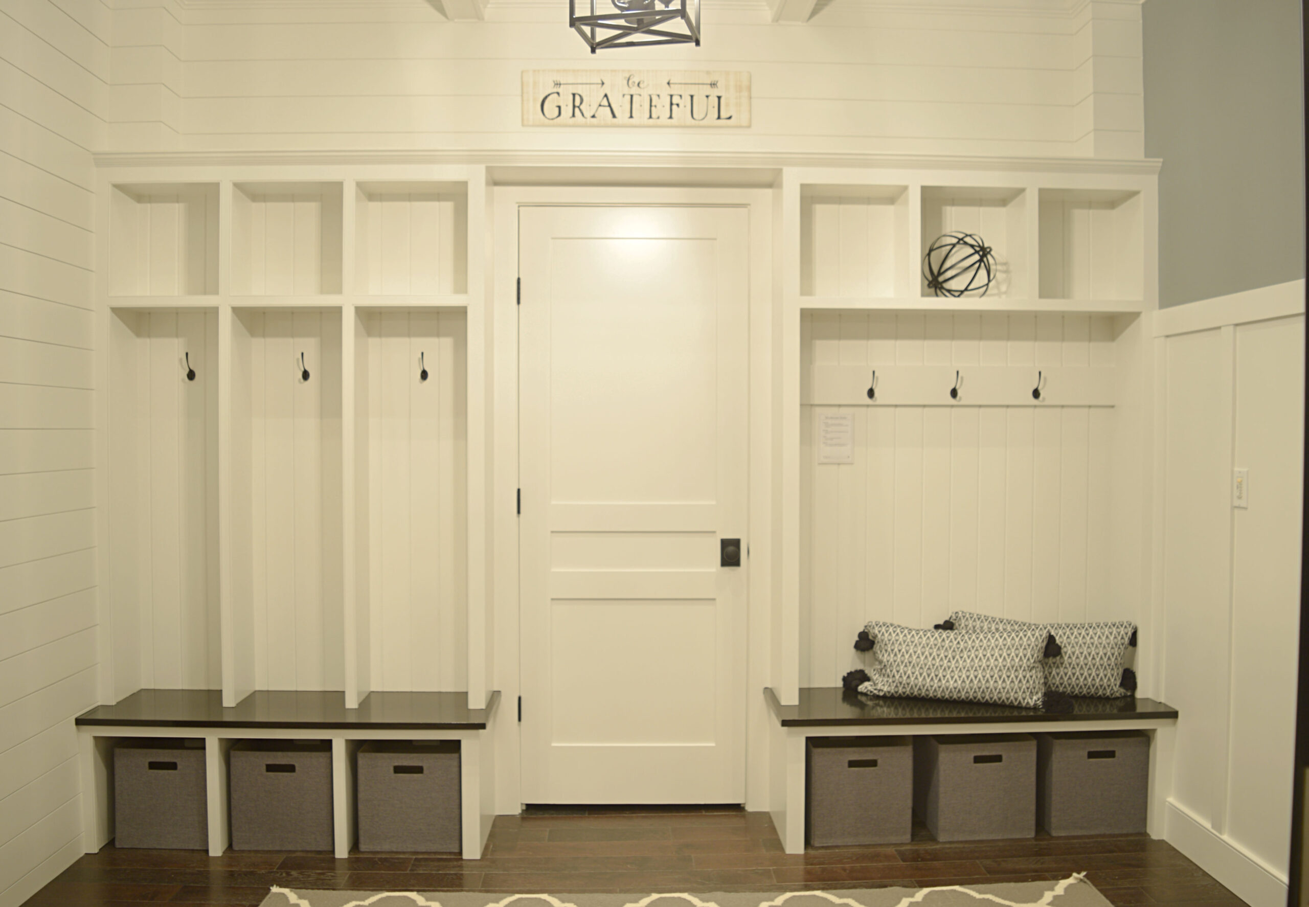 Van Millwork Design Center Mudroom Suite